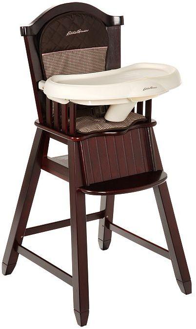 Eddie Bauer classic wood high chair