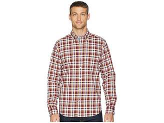 Nautica Long Sleeve Layer Up Plaid Woven Shirt
