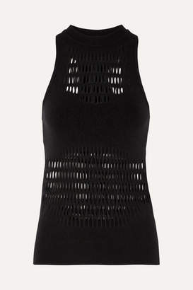 adidas by Stella McCartney Perforated Climalite Tank - Black