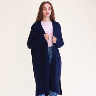 Maje Long oversized cardigan