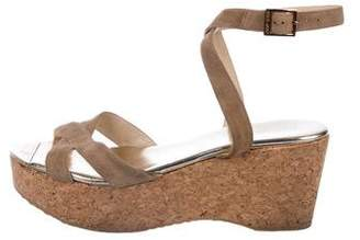 Jimmy Choo Panther Platform Wedges