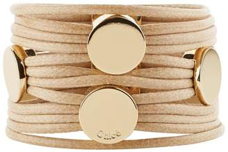 Chloé Leather Multi-Strand Bracelet