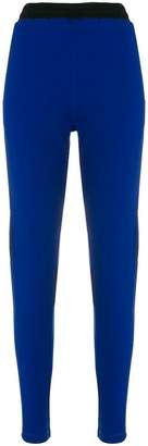Koché colour block slim track trousers