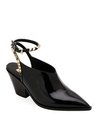 Valentino No Limit Leather Booties