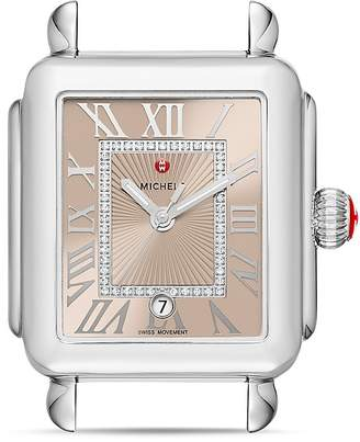 MICHELE Deco Madison Diamond Watch Head, 33mm x 35mm $995 thestylecure.com