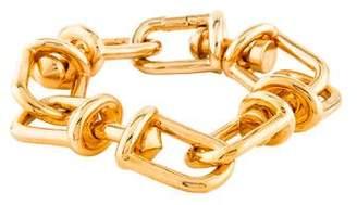 Eddie Borgo Fame Golden Link Bracelet