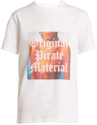House of Holland Original Pirate Material cotton T-shirt