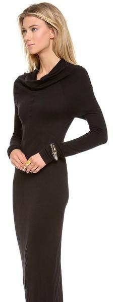 Gareth Pugh Knit Long Sleeve Dress