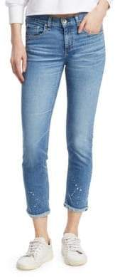 Rag & Bone Dre Ankle Medium Wash Split Jeans