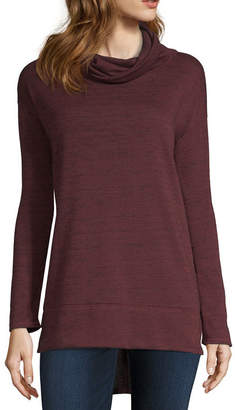 Liz Claiborne Mock Neck Tunic- Plus