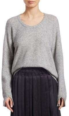 3.1 Phillip Lim Open Neck Wool Sweater