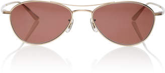 Oliver Peoples THE ROW Aero LA Aviator Sunglasses