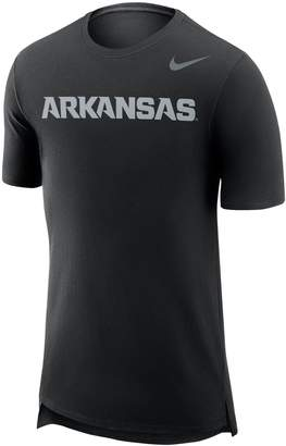 Nike Men's Arkansas Razorbacks Enzyme Droptail Tee