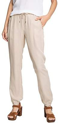 Esprit EDC by Women's Jogger Relaxed Trouser,(Manufacturer Size:40 Regular)