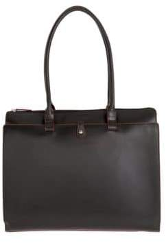 Lodis Audrey Jessica Grain Leather Work Satchel