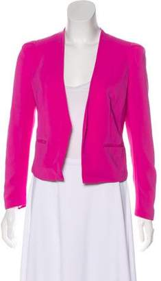 Rebecca Taylor Open Front Cropped Blazer
