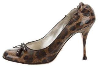 Dolce & Gabbana Leopard Printed Pumps