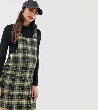 New Look Maternity pinny in yellow check