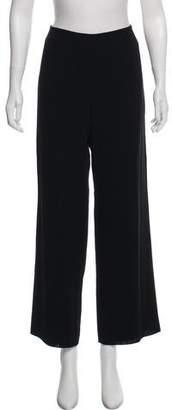Armani Collezioni Wool Wide-Leg Pants
