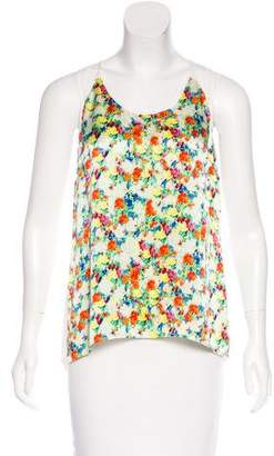 Rebecca Minkoff Sleeveless Printed Top