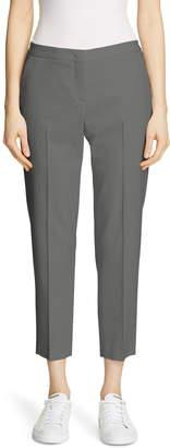 Fabiana Filippi Slim Tropical Wool Crop Pants
