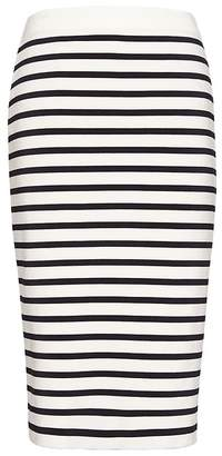 Banana Republic Stripe Knit Pencil Skirt