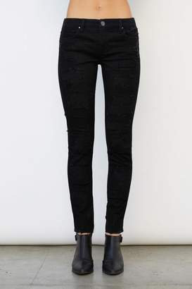 Blank NYC Low Life Distressed Jean