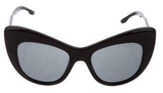Stella McCartney Cat-Eye Tinted Sunglasses
