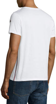 Moncler Logo-Patch Cotton T-Shirt