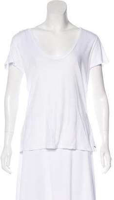 James Perse Graphic Short Sleeve Top
