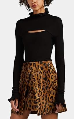Philosophy di Lorenzo Serafini Women's Cutout Turtleneck Sweater - Black