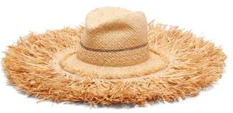 BEIGE Lola Hats - Coconut Wide Brim Raffia Hat - Womens