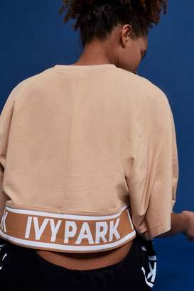 Ivy park Knitted panel t-shirt