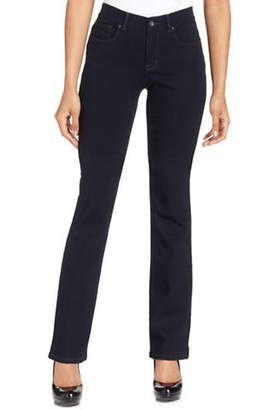Style&Co. STYLE & CO. Petite Jeans Bootcut Leg Tummy Control Rinse Wash