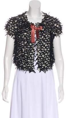 6267 Silk Embellished Jacket