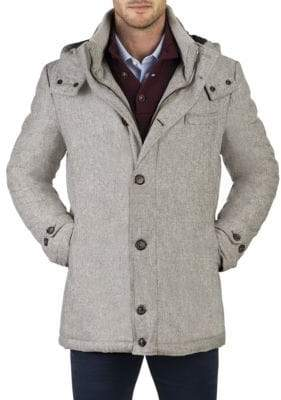 Norwegian Wool City Active Wool Parka