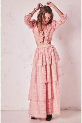 LoveShackFancy Harriet Skirt