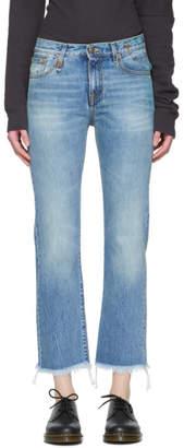 R13 Blue Bowie Jeans
