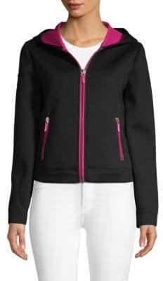 Salvatore Ferragamo Full-Zip Hooded Sweater