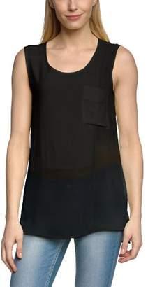 Object Women'S Crew Neck Sleevelessvest Top - - (Brand Size: 36)