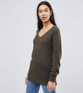 Brave Soul Tall Wafer Sweater
