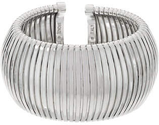 Bronze Bold Domed Tubogas Cuff Bracelet byBronzo Italia