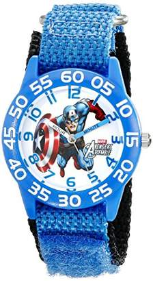 Marvel Kids' W001726 Captain America Analog Display Analog Quartz Watch