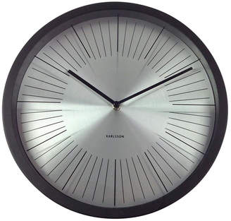 Karlsson Floating Lines Clock