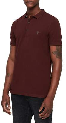 AllSaints Reform Slim Fit Polo