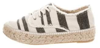 Loeffler Randall Canvas Espadrille Sneakers
