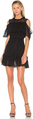 Rebecca Taylor Alyce Open Shoulder Dress