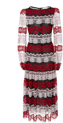 Giambattista Valli Lace Midi Dress