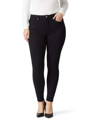 Jeanswest Alira Curve High Waisted Skinny 7/8 Jean-Velvet Black-10