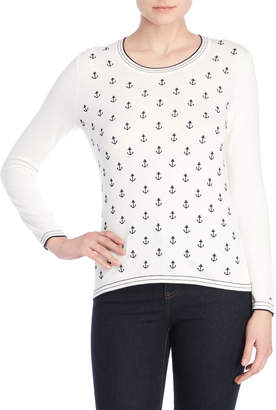Tommy Hilfiger Holly Crew Anchor Sweater
